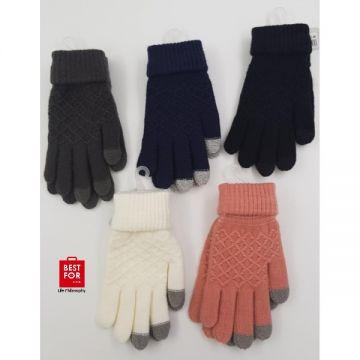 Warm Jacquard Gloves