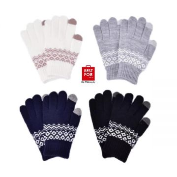 Warm Thick Touch Screen Gloves