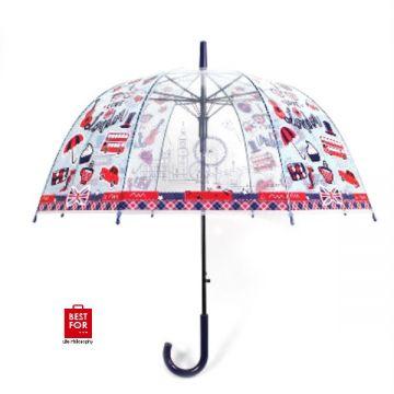 Auto Open Transparent Umbrella