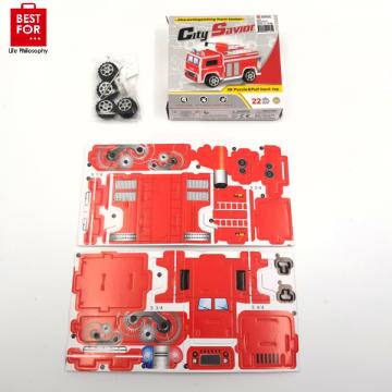 Fire Truck 3D Puzzle
