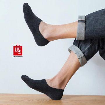 2PCS Men's Invisible Socks