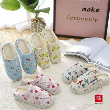 Children Home Cotton Slippers