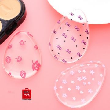 4 Pieces Silicone Makeup Sponge