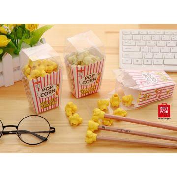 Popcorn Shape Eraser Pencil
