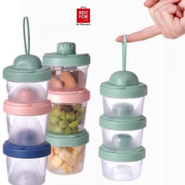 3 Layers Baby Food Storage