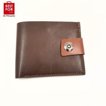 Men's wallet with buckle
