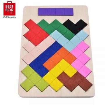 Wooden blocks toy
