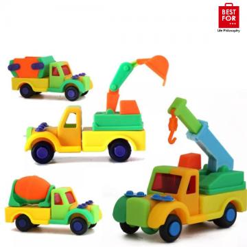 3D Puzzle Construction Truck