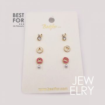 Earring Set 4pcs
