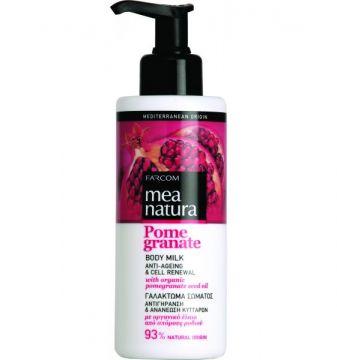 MEA NATURA Pomegranate Body Milk Anti-Ageing & Cell Renewal /250ml
