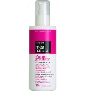MEA NATURA Pomegranate Cleansing Milk 3 in 1 Face & Eyes /250ml