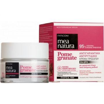 MEA NATURA Pomegranate Anti-Ageing, Anti-Wrinkle 24-Hour Face Cream / 50ML