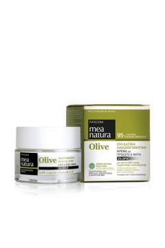 MEA NATURA Olive Moisturizing, Revitalizing 24-Hour Face & Eyes Cream/50ML