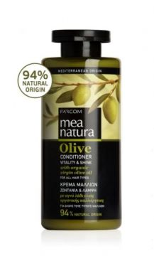 MEA NATURA Olive Conditioner Vitality & Shine For all types of hair / 300 ml