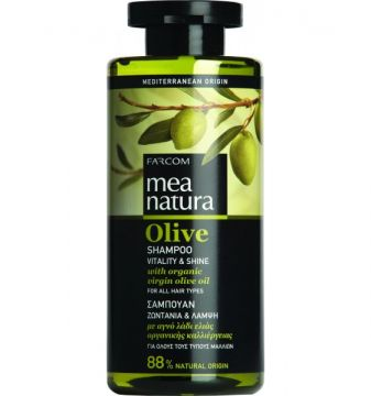 MEA NATURA Olive Shampoo Vitality & Shine/300ML