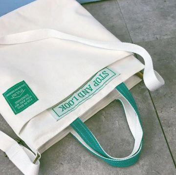 Canvas bag-White